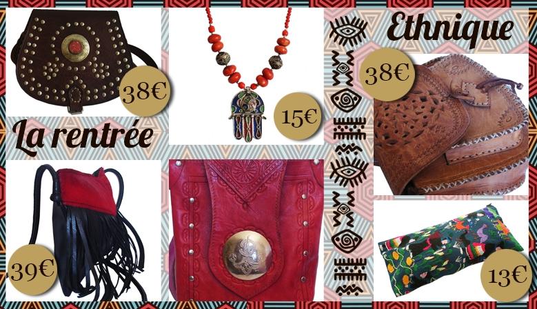 Accessoires de mode ethnique