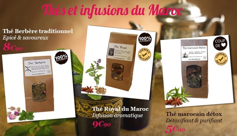 infusions du maroc