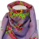 Foulard Traditionnel Turc parme