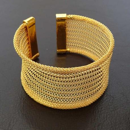 Bracelet Manchette Ottoman en cuivre