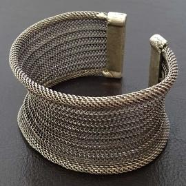 Bracelet Manchette Ottoman en étain