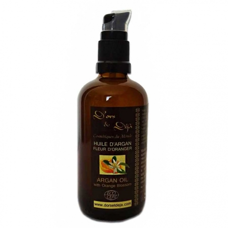 Huile d'Argan BIO - Fleur d'oranger 100 ml