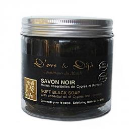 Savon Noir au Cyprès Romarin - 200g