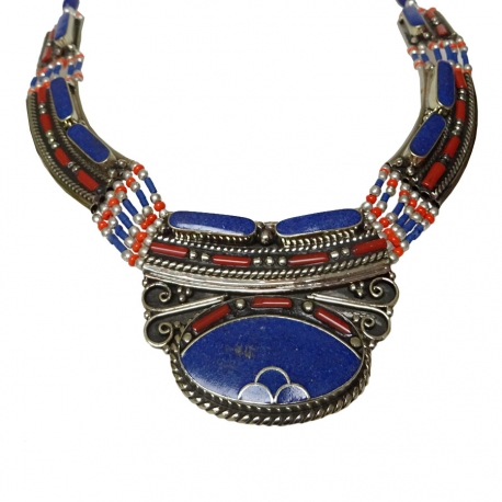 Collier Ethnique Tibétain Chesa