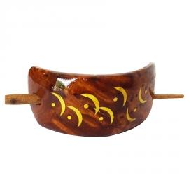 Barrette à cheveux en bois de Thuya