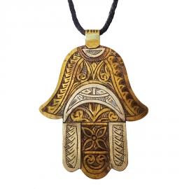 Collier pendentif Touareg Azêllay