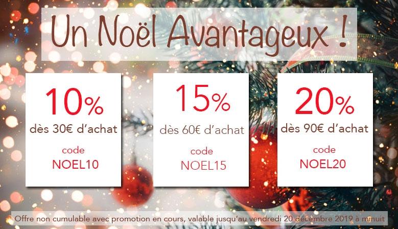 spécial Noël codes promos